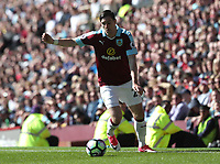 Burnley's Stephen Ward<br /> <br /> Photographer Rachel Holborn/CameraSport<br /> <br /> The Premier League - Burnley v Manchester United - Sunday 23rd April 2017 - Turf Moor - Burnley<br /> <br /> World Copyright &copy; 2017 CameraSport. All rights reserved. 43 Linden Ave. Countesthorpe. Leicester. England. LE8 5PG - Tel: +44 (0) 116 277 4147 - admin@camerasport.com - www.camerasport.com