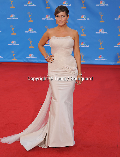Mariska Hargitay<br /> 62th Emmy Awards - 2010 at the Nokia Theatre in Los Angeles.