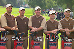 USA Team Photo for the 2006 Ryder Cup at The K Club featuring Stewart Cink, Captain Tom Lehman, Phil Mickelson, David Toms and Chris DiMarco..Photo: Eoin Clarke/Newsfile.