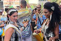 SÃO PAULO,SP, 31.01.2016 - CARNAVAL-SP - Foliões se divertem no bloco Fuzuê na Vila Madalena região oeste de São Paulo, neste domingo, 31.  (Foto: Marcio Ribeiro/Brazil Photo Press)