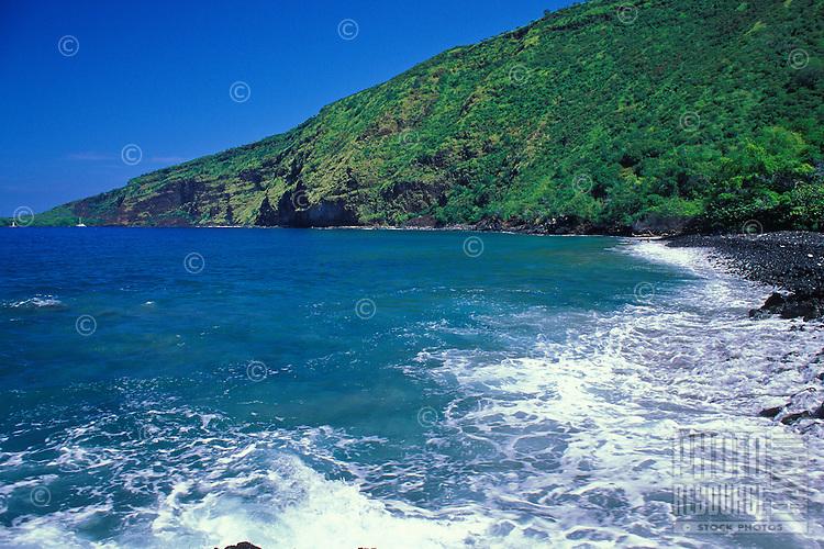 Beautiful Kealakekua bay south of Kona on the Big Island