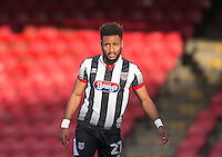 Adi Yussuf of Grimsby Town during the Sky Bet League 2 match between Grimsby Town and Wycombe Wanderers at Blundell Park, Cleethorpes, England on 4 March 2017. Photo by Andy Rowland / PRiME Media Images.