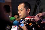 Politic Ignacio Aguado during a lunch - colloquium of the Club Siglo XXI at Hotel Eurobuilding in Madrid. May 30. 2016. (ALTERPHOTOS/Borja B.Hojas)