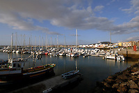 Corralejo harbour, May 2007, early morning,Fuerteventura,Canary Islands, Spain.