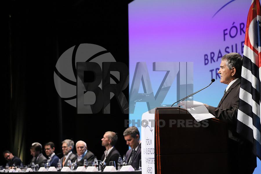 SÃO PAULO, SP, 05.11.2019 - POLITICA-SP - Décio Corrêa, Diretor do Fórum Brasileiro do Transporte Aéreo, participa do Fórum Brasileiro de Transporte Aéreo, no WTC Events, em São Paulo, nesta terça-feira, 5. (Foto Charles Sholl/Brazil Photo Press)