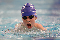 Picture by Richard Blaxall/SWpix.com - 14/04/2018 - Swimming - EFDS National Junior Para Swimming Champs - The Quays, Southampton, England - Harvey Phillips of Louth during the Men's Open 50m Breaststroke