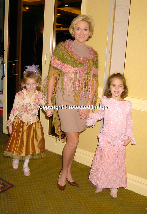 "Tonja Walker and her daughters Abrianna and Isabella ..at the  37th Annual  ""Going Home""  Luncheon for Animal Haven on October 17, 2004 at the Sheraton LaGuardia East...Photo by Robin Platzer, Twin Images"