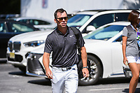 Paul Casey (GBR) makes his way to the course before round 2 of the 2019 Tour Championship, East Lake Golf Course, Atlanta, Georgia, USA. 8/23/2019.<br /> Picture Ken Murray / Golffile.ie<br /> <br /> All photo usage must carry mandatory copyright credit (© Golffile | Ken Murray)
