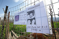 2017 02 25 Tributes for Steven Cook whose remains were discovered in Malia, Greece