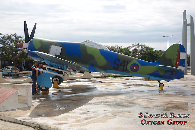 Hawker Sea Fury FB11 at the Giron Museum (Bay Of Pigs) - Invasion Museum (1961)