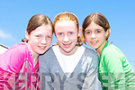 Bronagh Murphy Milltown, Mairead Rafferty and Aine Brennan both Killorglin at the World Bodhra?n festival in Milltown on Saturday   Copyright Kerry's Eye 2008