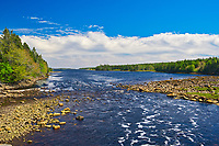 Isaac's Harbour River, Isaac's Harbour , Nova Scotia, Canada