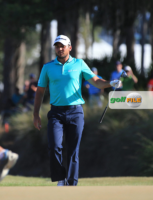 Jason Day(AUS)  during the Third Round of The Players, TPC Sawgrass, Ponte Vedra Beach, Jacksonville.   Florida, USA. 14/05/2016.<br /> Picture: Golffile | Mark Davison<br /> <br /> <br /> All photo usage must carry mandatory copyright credit (&copy; Golffile | Mark Davison)