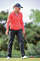 Suzann Pettersen (NOR) barely misses her putt on 2 during round 3 of  the Volunteers of America Texas Shootout Presented by JTBC, at the Las Colinas Country Club in Irving, Texas, USA. 4/29/2017.<br /> Picture: Golffile | Ken Murray<br /> <br /> <br /> All photo usage must carry mandatory copyright credit (&copy; Golffile | Ken Murray)