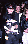 Mick Mars of Motley Crue at The NAMM Convention in California 1986.