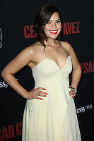"HOLLYWOOD, LOS ANGELES, CA, USA - MARCH 20: America Ferrera at the Los Angeles Premiere Of Pantelion Films And Participant Media's ""Cesar Chavez"" held at TCL Chinese Theatre on March 20, 2014 in Hollywood, Los Angeles, California, United States. (Photo by Celebrity Monitor)"