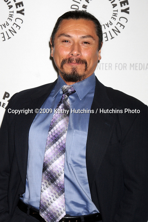"Gregory Cruz  arriving at the ""Saving Grace"" Event at the Paley Center for Media in Beverly Hills , CA on June 13, 2009.  .©2009 Kathy Hutchins / Hutchins Photo"