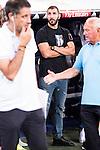 Real Madrid's player Karem Benzema during the XXXVII Santiago Bernabeu Trophy in Madrid. August 16, Spain. 2016. (ALTERPHOTOS/BorjaB.Hojas)