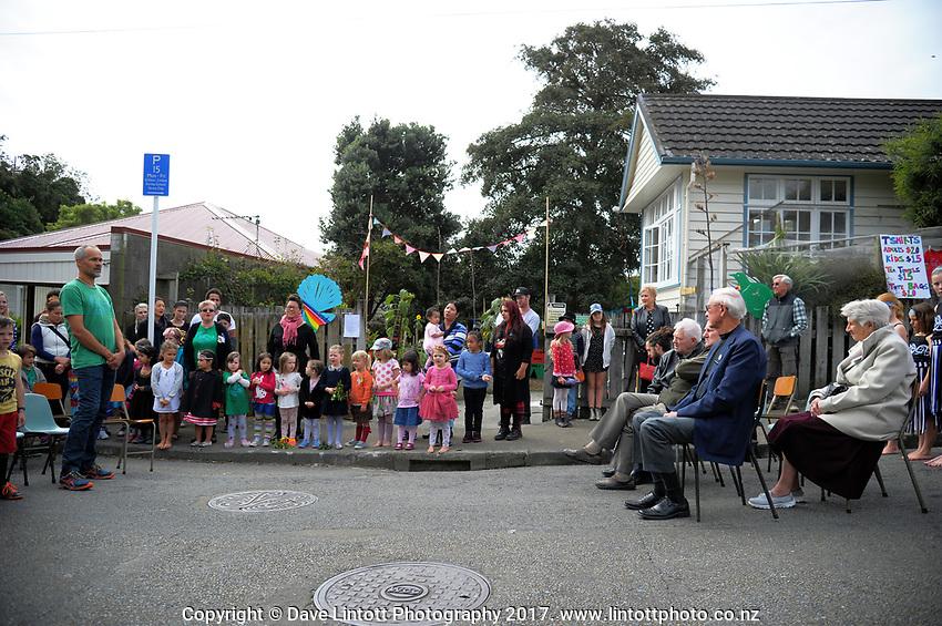 Berhampore Kindergarten Centenary in Wellington, New Zealand on Saturday, 8 April 2017. Photo: Dave Lintott / lintottphoto.co.nz