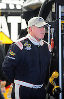 Oct. 15, 2009; Concord, NC, USA; NASCAR Sprint Cup Series driver Terry Labonte during practice for the Banking 500 at Lowes Motor Speedway. Mandatory Credit: Mark J. Rebilas-