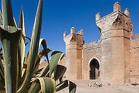 Afrique/Afrique du Nord/Maroc/Rabat: Chellah - la porte - art mérinide