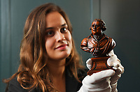 223 year old miniature bust of anti-slavery campaigner the Right Honourable Charles James Fox.