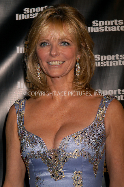 Cheryl Tiegs at the 2004 Sports Illustrated Swimsuit Issue press event celebrating the magazines 40th Anniversary. New York, February 10, 2004. Please byline: AJ SOKALNER/ACE Pictures.   ..*PAY-PER-USE*      ....IMPORTANT: Please note that our old trade name, NEW YORK PHOTO PRESS (NYPP), is replaced by new name, ACE PICTURES. New York Photo Press and ACE Pictures are owned by All Celebrity Entertainment, Inc.......All Celebrity Entertainment, Inc:  ..contact: Alecsey Boldeskul (646) 267-6913 ..Philip Vaughan (646) 769-0430..e-mail: info@nyphotopress.com