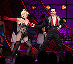 "Robyn Hurder and Ricky Rojas during the Broadway Opening Night performance Curtain Call bows for ""Moulin Rouge! The Musical"" at the Al Hirschfeld Theatre on July 25, 2019 in New York City."