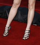 """Actress Whitney Cummings 's shoes at the Premiere Of Fox's """"What Happens In Vegas"""" on May 1, 2008 at the Mann Village Theatre in Los Angeles, California."""