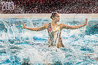 China CHN FINA <br /> 8th FINA Synchronised Swimming World Trophy <br /> Day03 Dec. 1 st -  Free combined routine<br /> Mexico City 29 November - 1 December<br /> Photo G.Scala/Deepbluemedia.eu/Insidefoto