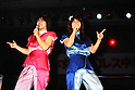 (L-R) Noriyo Tateno, Itsuki Yamazaki, JUNE 22, 1986 - Pro Wrestling : All Japan Women's Pro-Wrestling event in Japan. (Photo by Yukio Hiraku/AFLO)