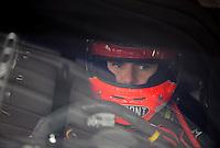 Oct. 3, 2009; Kansas City, KS, USA; Nascar Sprint Cup Series driver Jeff Gordon during practice for the Price Chopper 400 at Kansas Speedway. Mandatory Credit: Mark J. Rebilas-