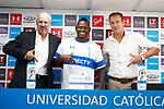 Futbol 2019 UC Presentación Duvier Riascos