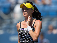 AGNIESZKA RADWANSKA (POL)<br /> The US Open Tennis Championships 2014 - USTA Billie Jean King National Tennis Centre -  Flushing - New York - USA -   ATP - ITF -WTA  2014  - Grand Slam - USA  27th August 2014. <br /> <br /> &copy; AMN IMAGES