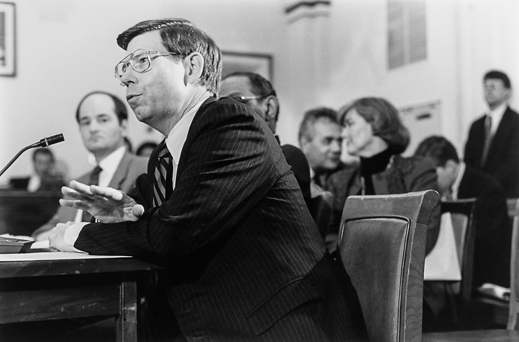 Rep. Bill McCollum in 1995. (Photo by Chris Martin/CQ Roll Call)