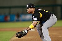 Ramon Orantes de Cañeros, durante el juego de beisbol de Naranjeros vs Cañeros durante la primera serie de la Liga Mexicana del Pacifico.<br /> 15 octubre 2013