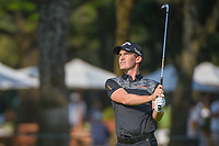 Chris Paisley (ENG) watches his approach shot on 18 during round 1 of the World Golf Championships, Mexico, Club De Golf Chapultepec, Mexico City, Mexico. 3/1/2018.<br /> Picture: Golffile | Ken Murray<br /> <br /> <br /> All photo usage must carry mandatory copyright credit (&copy; Golffile | Ken Murray)