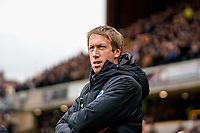 7th March 2020; Molineux Stadium, Wolverhampton, West Midlands, England; English Premier League, Wolverhampton Wanderers versus Brighton and Hove Albion; Graham Potter  Manager of Brighton & Hove Albion before the game