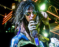Aerosmith kicks off its 2009 world tour in St. Louis, Mo., at the Verizon Wireless Amphitheater on June 10, 2009.