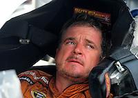 Jul. 4, 2008; Daytona Beach, FL, USA; NASCAR Sprint Cup Series driver Joe Nemechek during qualifying for the Coke Zero 400 at Daytona International Speedway. Mandatory Credit: Mark J. Rebilas-
