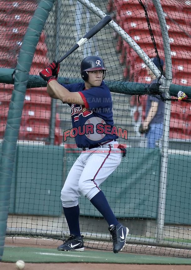 September 15, 2004:  J.C. (Jean) Boscan of the Richmond Braves, Triple-A International League affiliate of the Atlanta Braves, during a game at Dunn Tire Park in Buffalo, NY.  Photo by:  Mike Janes/Four Seam Images