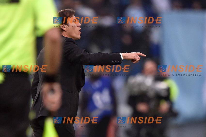 Rudi Garcia Roma <br /> Roma 11-01-2015 Stadio Olimpico, Football Calcio Serie A AS Roma - Lazio . Foto Andrea Staccioli / Insidefoto