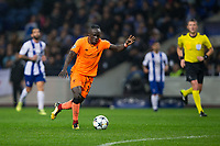 Liverpool's Sadio Mane scores his side's fifth goal and his own hat-trick goal <br /> <br /> Photographer Craig Mercer/CameraSport<br /> <br /> UEFA Champions League Round of 16 First Leg - FC Porto v Liverpool - Wednesday 14th February 201 - Estadio do Dragao - Porto<br />  <br /> World Copyright &copy; 2018 CameraSport. All rights reserved. 43 Linden Ave. Countesthorpe. Leicester. England. LE8 5PG - Tel: +44 (0) 116 277 4147 - admin@camerasport.com - www.camerasport.com