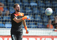 Blackpool's Mark Howard during the pre-match warm-up <br /> <br /> Photographer Kevin Barnes/CameraSport<br /> <br /> The EFL Sky Bet League One - Wycombe Wanderers v Blackpool - Saturday 4th August 2018 - Adams Park - Wycombe<br /> <br /> World Copyright &copy; 2018 CameraSport. All rights reserved. 43 Linden Ave. Countesthorpe. Leicester. England. LE8 5PG - Tel: +44 (0) 116 277 4147 - admin@camerasport.com - www.camerasport.com