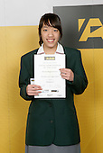Badminton Girls Winner - Jessica Jonggowisastro. ASB College Sport Young Sportsperson of the Year Awards 2006, held at Eden Park on Thursday 16th of November 2006.<br />