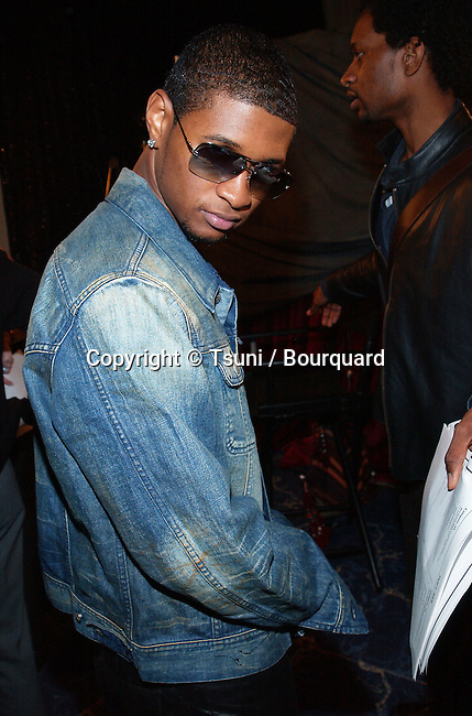 Usher at 44th Grammy nominee press conference at the Beverly Hilton Hotel in Los Angeles Friday, Jan. 4, 2002.           -            Usher01B.jpg