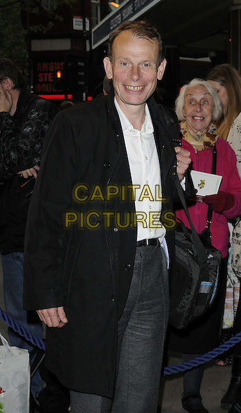 Andrew Marr.attended the 'Abigail's Party' press night, Wyndhams Theatre, Charing Cross Rd., London, England, UK, May 18th 2012..half length black coat white shirt .CAP/CAN.©Can Nguyen/Capital Pictures.
