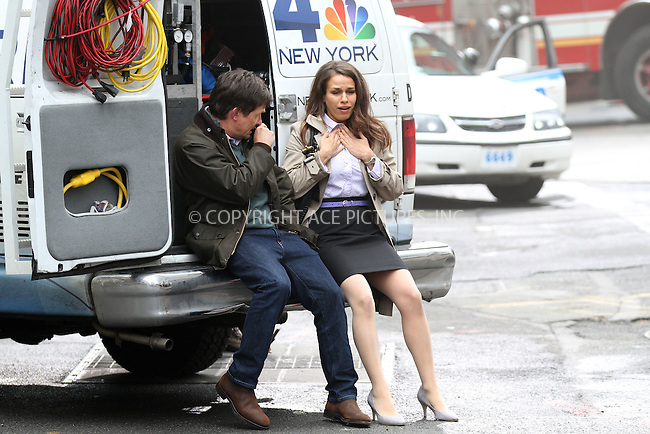 WWW.ACEPIXS.COM....January 30 2013, New York City....Actors Michael J Fox and Ana Nogueira were on the set of the new NBC family comedy show on January 30 2013 in New York City....By Line: Zelig Shaul/ACE Pictures......ACE Pictures, Inc...tel: 646 769 0430..Email: info@acepixs.com..www.acepixs.com