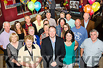 40 rocks<br /> -----------<br /> Padraig Marshall, Kilmoyley, front centre, had a great night  celebrating his 40th birthday in O'Donnell's of Mounthawk last Saturday.