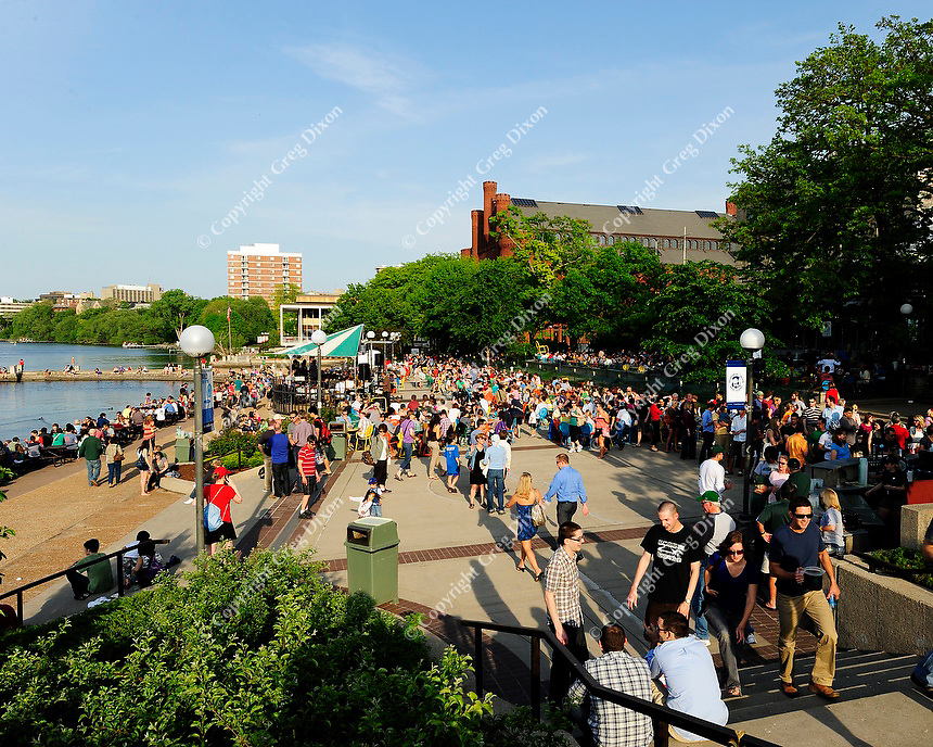 Memorial Union Terrace, Friday, May 11, 2012, in Madison, Wisconsin